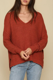 By Together  V Neck Sweater - Front full body