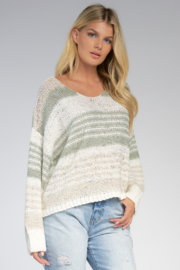 Elan  V-Neck Sweater - Front cropped