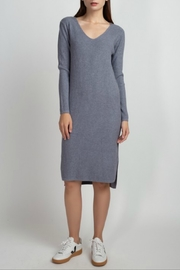 Dreamers V-neck sweater dress - Product Mini Image