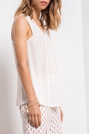 Others Follow  V-Neck Swing Tank - Side cropped