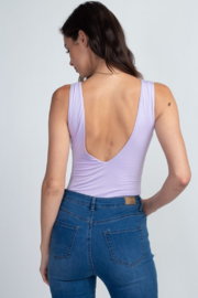 Fore Collection V Neck Tank Bodysuit - Product Mini Image