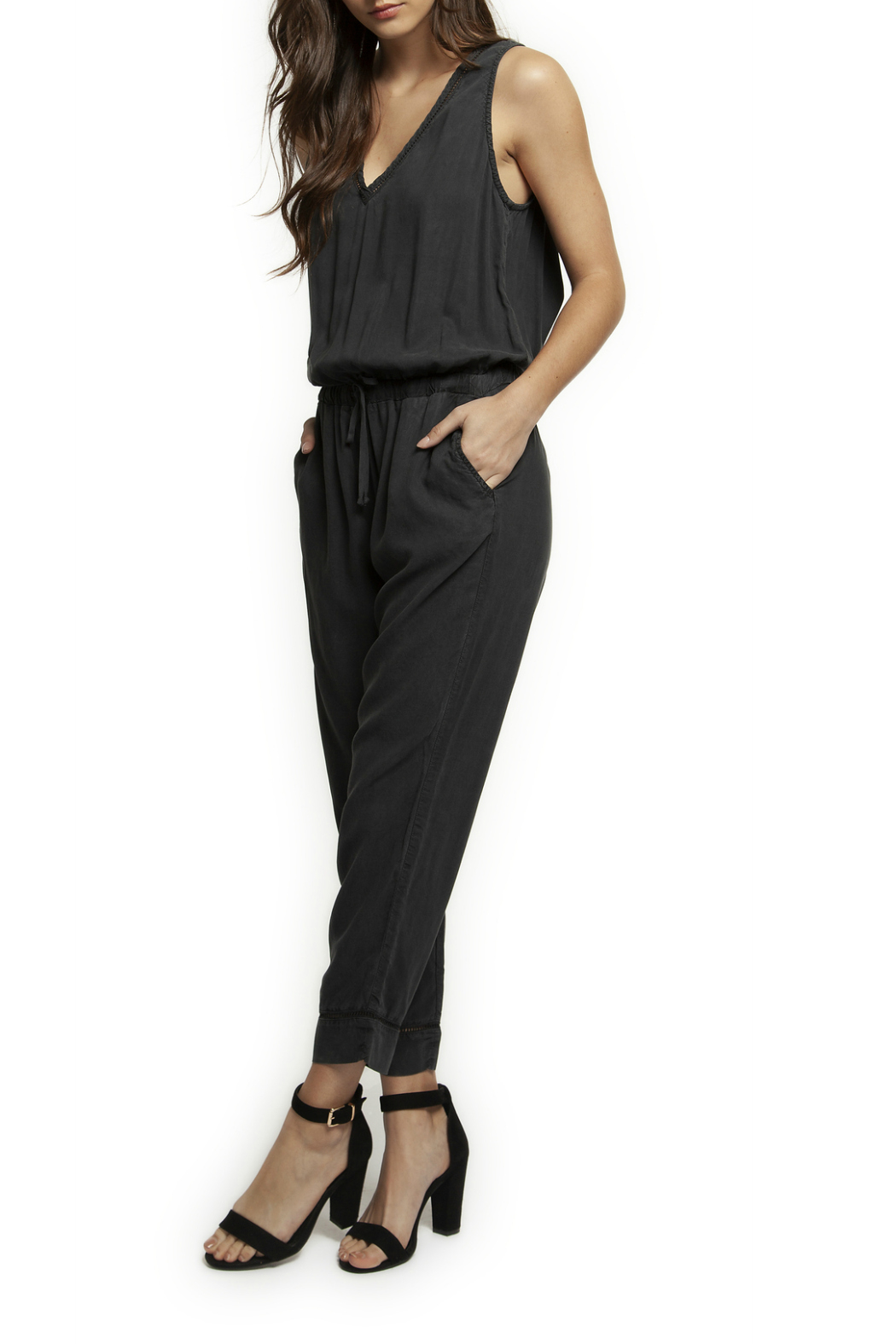 7d023f5cdc2cc Dex V-Neck Tank Jumpsuit from Texas by y i clothing boutique ...