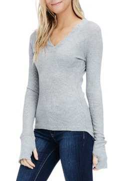 Sapphire O V-Neck Thermal Long-Sleeve - Product List Image