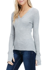 Sapphire O V-Neck Thermal Long-Sleeve - Product Mini Image