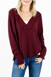 Six Fifty V-Neck Thermal Top - Product Mini Image