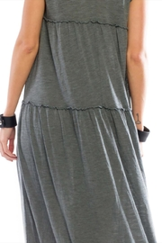 Anama V-Neck Tiered Maxi - Side cropped