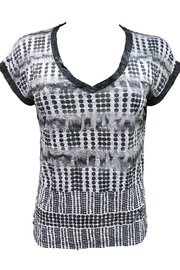 David Cline V-Neck Top - Front cropped