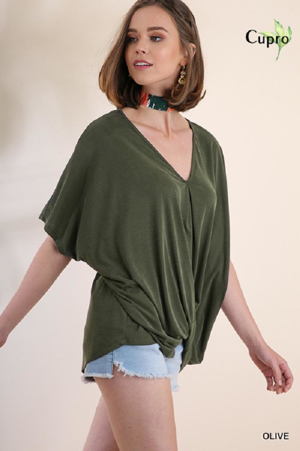 Umgee USA V-Neck Top - Main Image