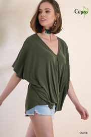 Umgee USA V-Neck Top - Front cropped