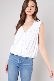 Mustard Seed V-Neck Top - Product Mini Image
