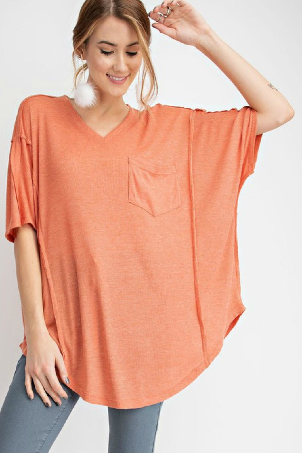 62b174776b4 easel V-Neck Tunic Top from Texas by Ale's Closet — Shoptiques