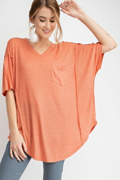 2d11a7f03c2 ... easel V-Neck Tunic Top - Product List Image