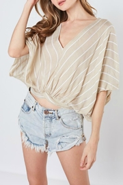 ALB Anchorage V-Neck Woven Top - Product Mini Image