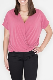 Cherish V-Neck Wrap Top - Product Mini Image