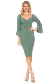 Va Va Voom 3/4 Sleeve Dress - Product Mini Image