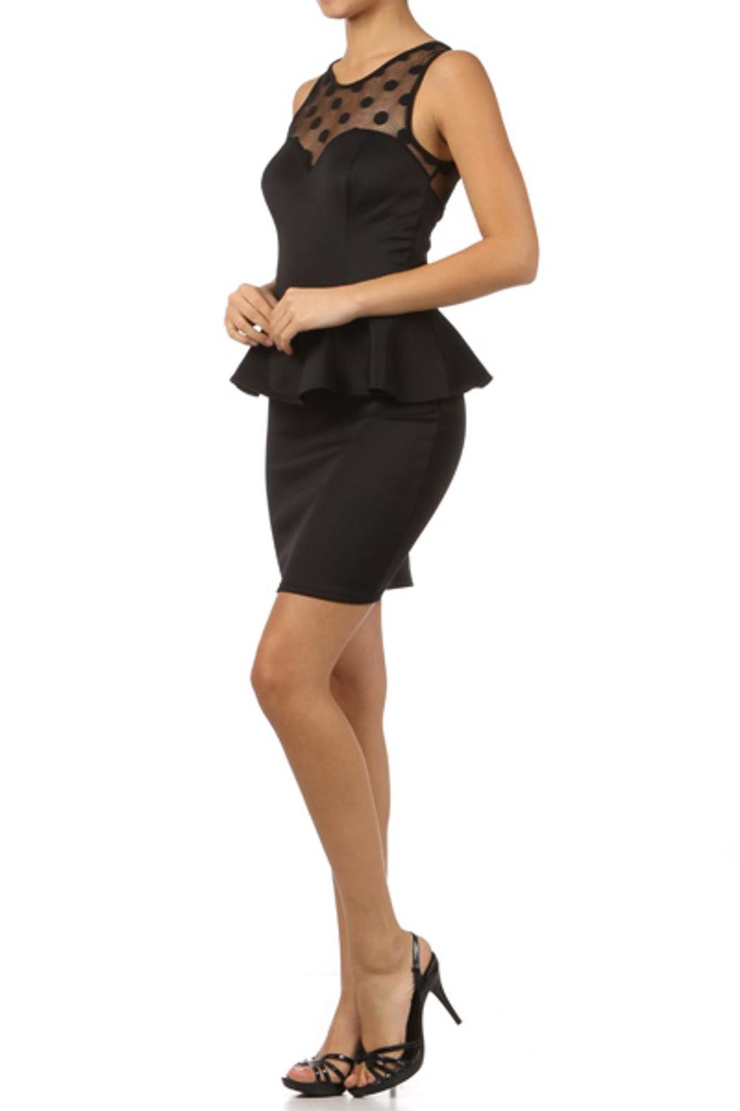 Va Va Voom Peplum Cocktail Dress from New York by People Outfitter ...