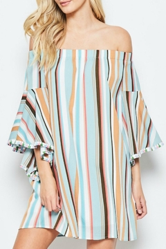 Shoptiques Product: Vacation Off-The-Shoulder Dress