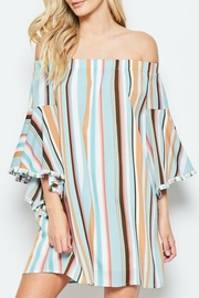 Andree by Unit Vacation Off-The-Shoulder Dress - Product Mini Image