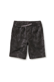 Tea Collection  Vacation Shorts - Tie Dye In Grout - Product Mini Image