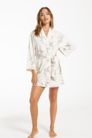 z supply Vacay Floral Robe - Front full body