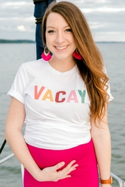 Izzie's Boutique Vacay Graphic Tee - Product Mini Image