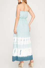 She and Sky Vacay Vibes Maxi dress - Front full body