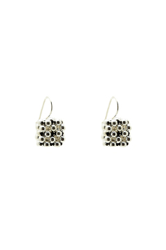 Shoptiques Product: Berries Cube Earrings