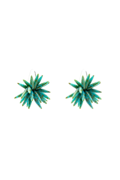 Shoptiques Product: Blooms Spike Earrings