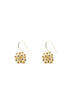 Shoptiques Product: Pearl Berries Round Earrings