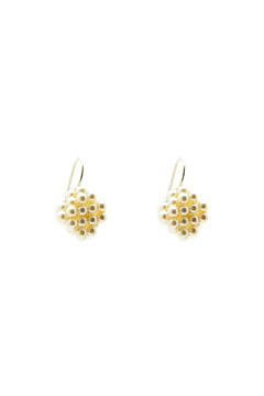 Shoptiques Product: Pearl Berries Square Earrings
