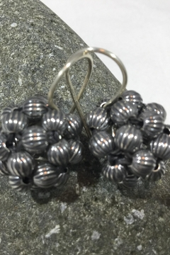 Vachon Designs Earring Ox Corrugated Berries - Product List Image
