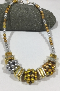 Vachon Designs Silver n Gold Necklace - Product List Image