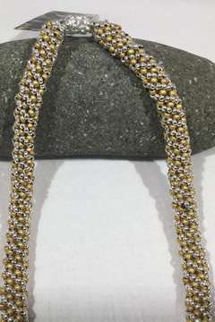 Shoptiques Product: Silver n Gold Spiral