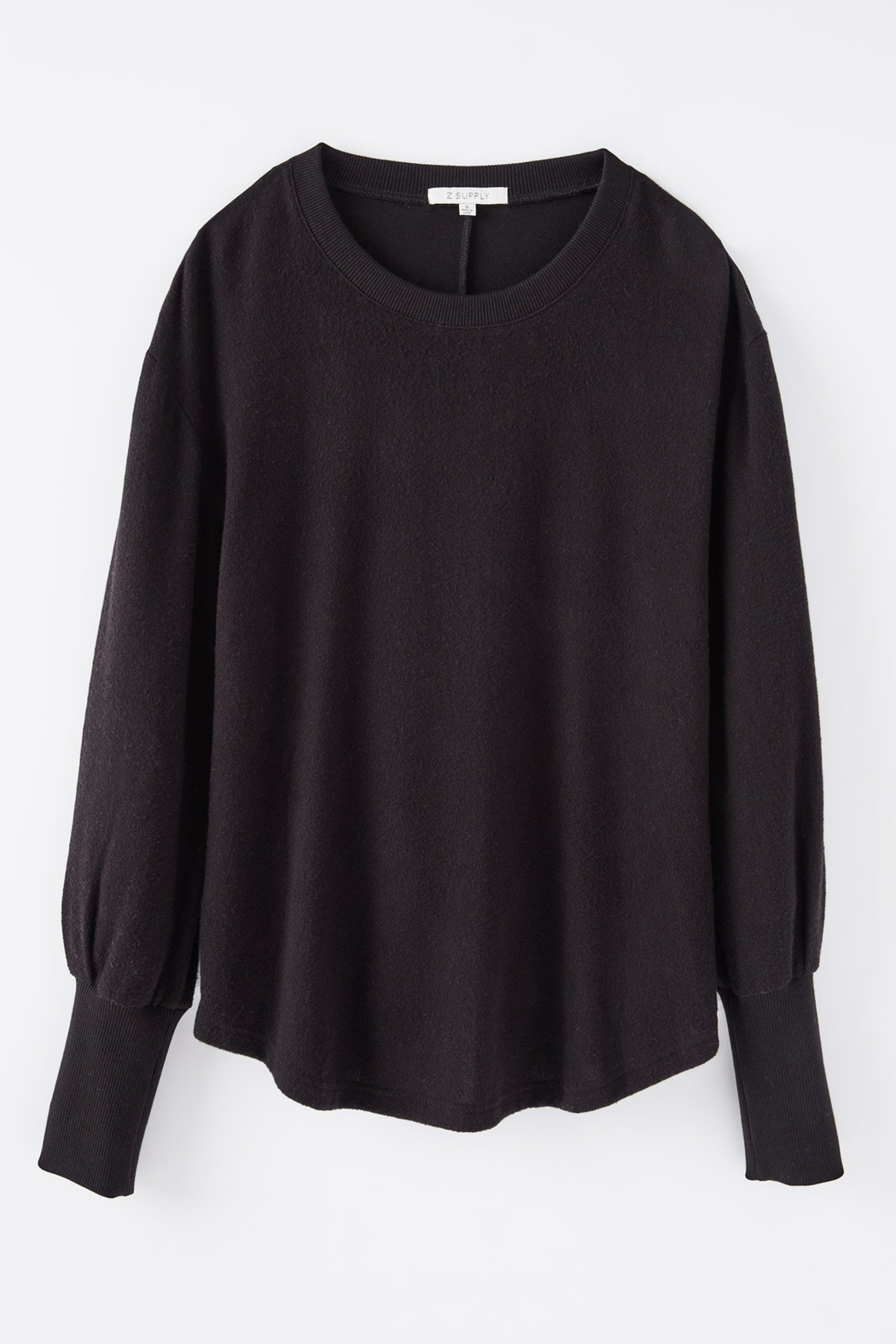 z supply Vada Marled Long Sleeve Top - Side Cropped Image