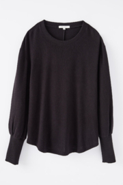 z supply Vada Marled Long Sleeve Top - Side cropped