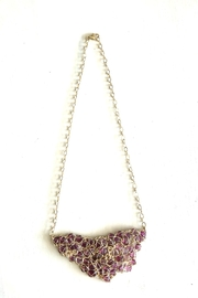 Vahe Twisted Gold Garnet Necklace - Product Mini Image