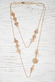 Vahe Twisted Twist Gold Necklace - Product Mini Image