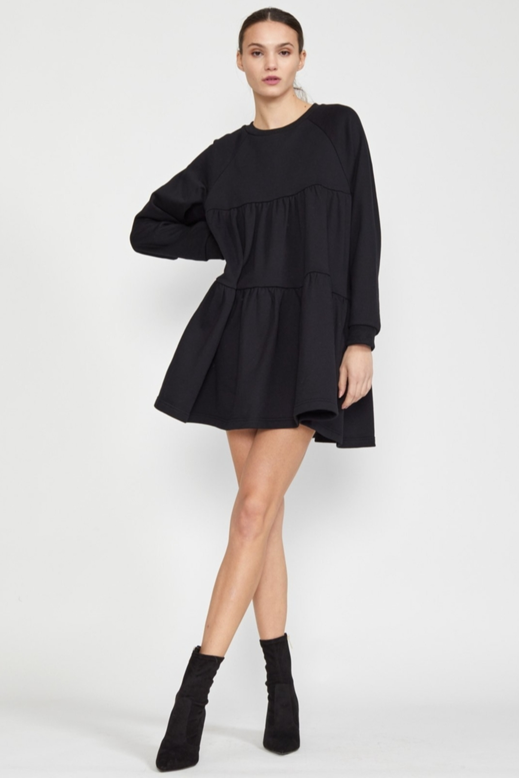 Cynthia Rowley Vail Cozy Swing Dress - Front Full Image