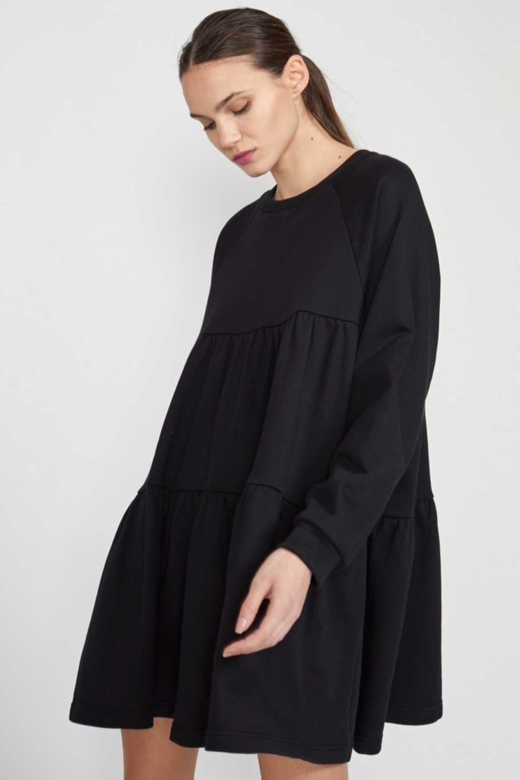 Cynthia Rowley Vail Cozy Swing Dress - Back Cropped Image
