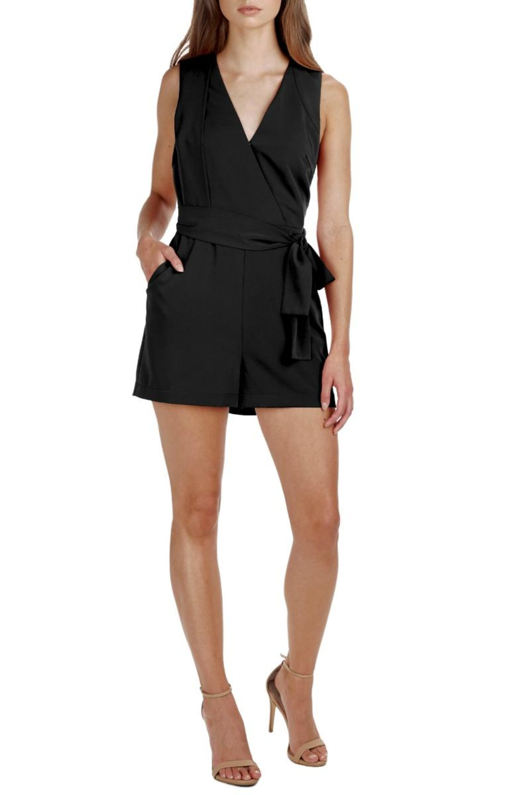 Adelyn Rae Val Woven Romper - Main Image