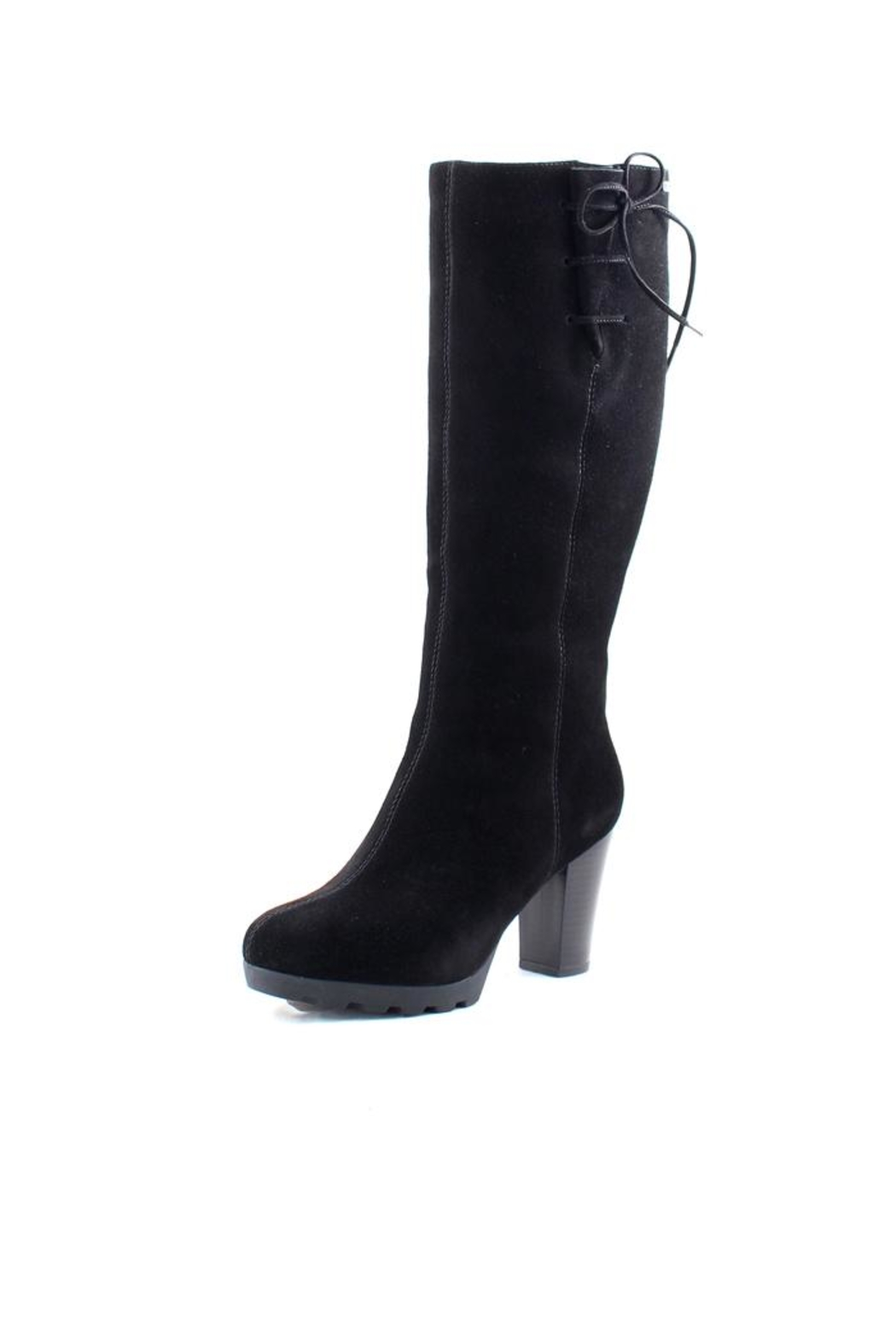 Waterproof Black Suede Boot