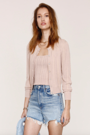 Heartloom Vale Cardi - Front cropped