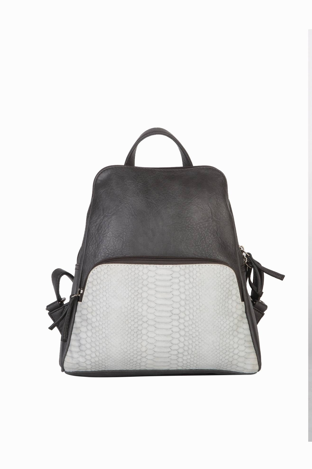 Mona B Vale Vegan Leather Convertible Backpack - Main Image