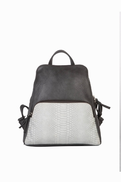 Mona B Vale Vegan Leather Convertible Backpack - Product List Image