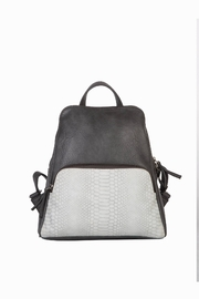 Mona B Vale Vegan Leather Convertible Backpack - Product Mini Image