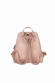 Mona B Vale Vegan Leather Convertible Backpack - Front full body
