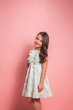Shoptiques Product: Valentina Dress Unicorn Forest Mint