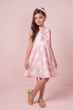 Mandy by Gema Valentina Dress Unicorn Forest Pink - Product List Image