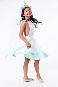 Mandy by Gema Valentina Dress Unicorn Parade Mint - Product List Image