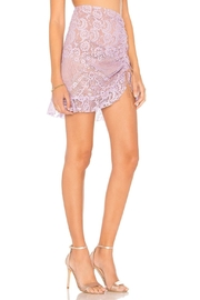 FOR LOVE & LEMONS Lace Mini Skirt - Side cropped